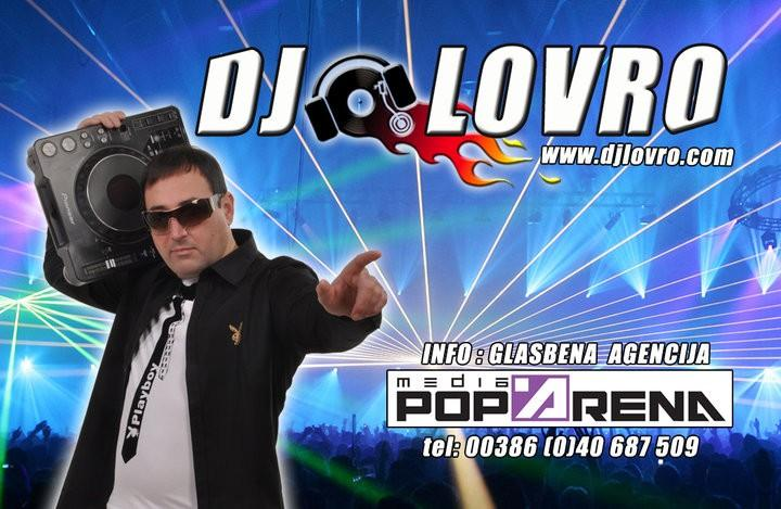 DJ LOVRO, VODENJE, ANIMACIJA, DJ ŠOLA, GLASBENA PRODUKCIJA, MARKETING, IZPOSOJA OZVOČENJA 1