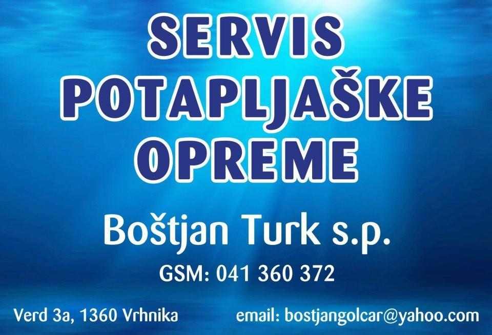 SERVIS POTAPLJAŠKE OPREME, BOŠTJAN TURK S.P., VRHNIKA