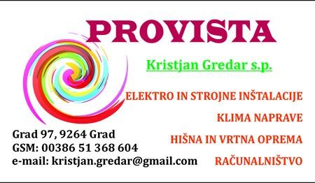 PROVISTA, GRAD