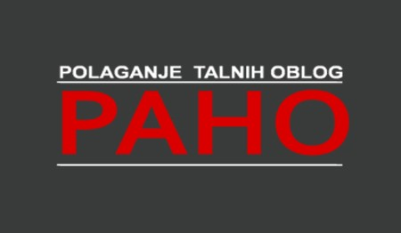 PAHO, POLAGANJE TALNIH OBLOG ROBERT HORVAT, MAČKOVCI