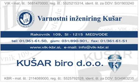 KUŠAR BIRO, MEDVODE
