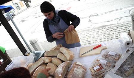 kruh iz krušne peči kamnik