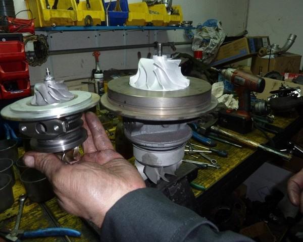 Servis, popravilo turbin lesce, obnovljene turbine z garancijo12