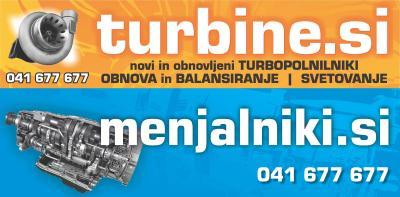 Servis, popravilo turbin lesce, obnovljene turbine z garancijo23