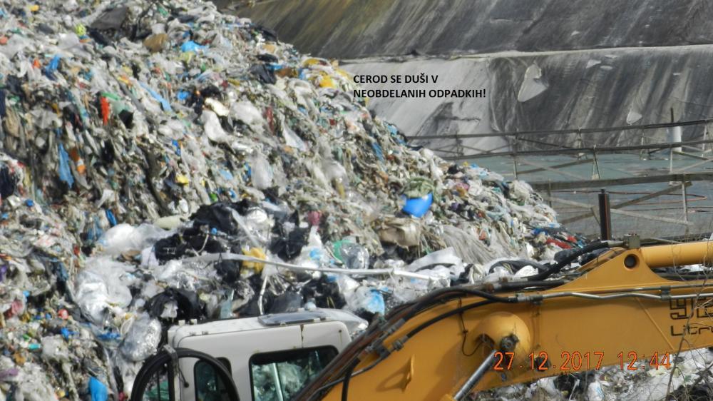 Kopičenje odpadkov CEROD