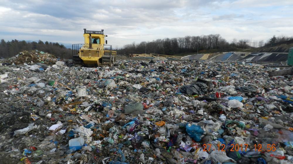 Odlaganje neobdelanih odpadkov C