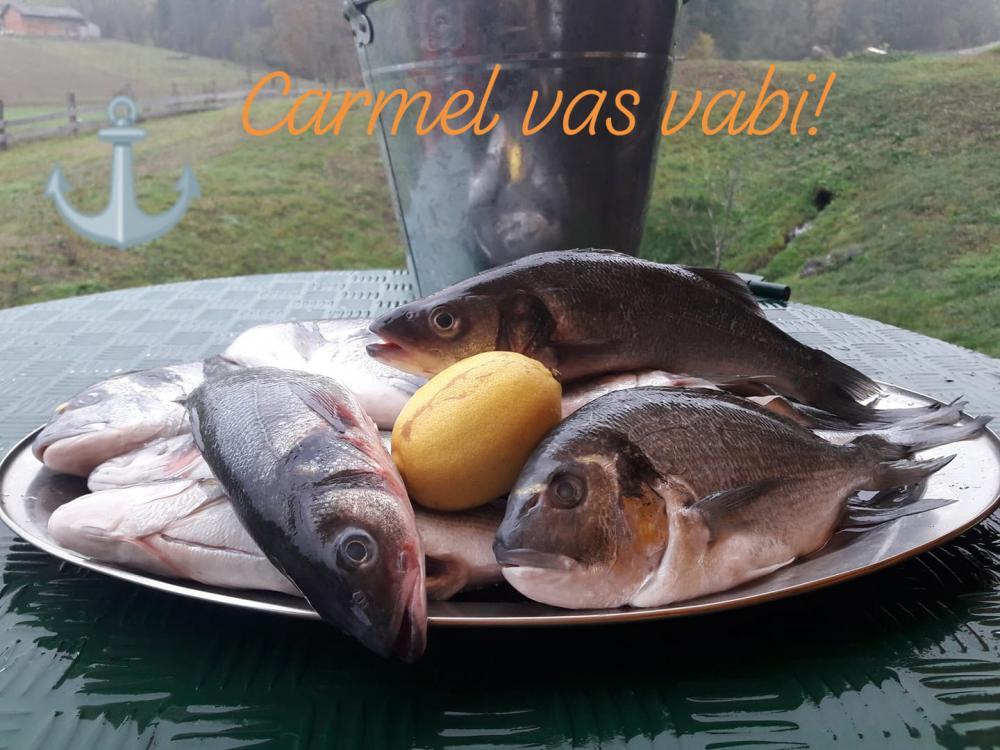 gostilna apače, ribje jedi sveže ribe, dalmatinska kuhinja15