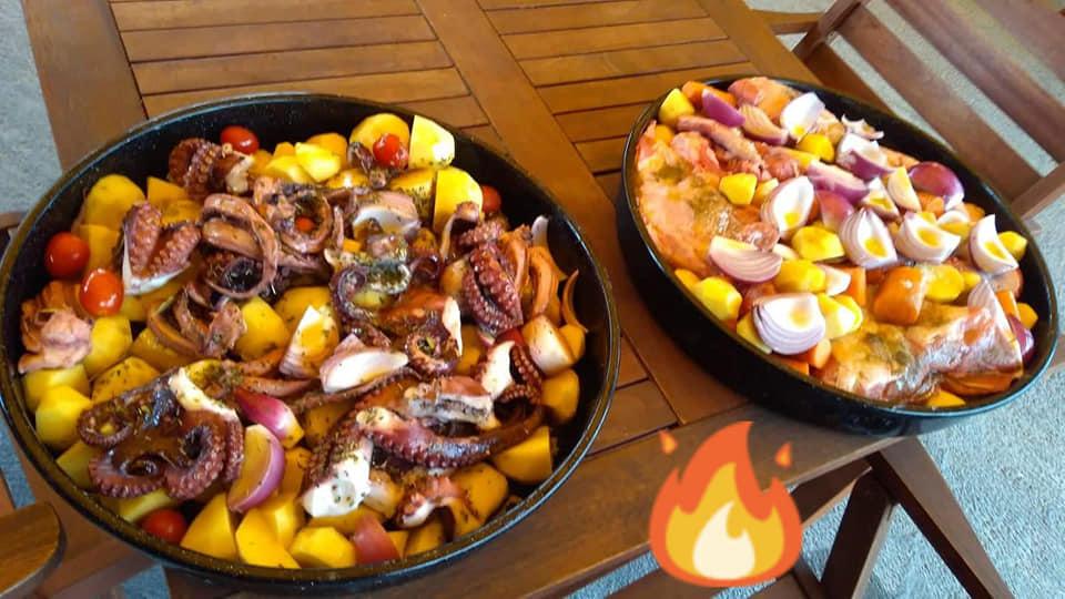 gostilna apače, ribje jedi sveže ribe, dalmatinska kuhinja10