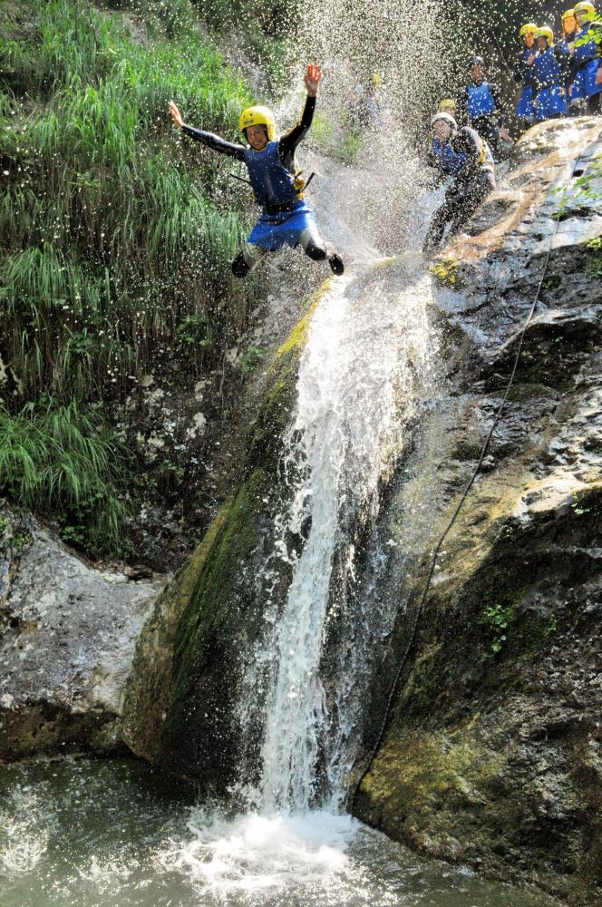 Canyoning Kamp Labrca, Maya team