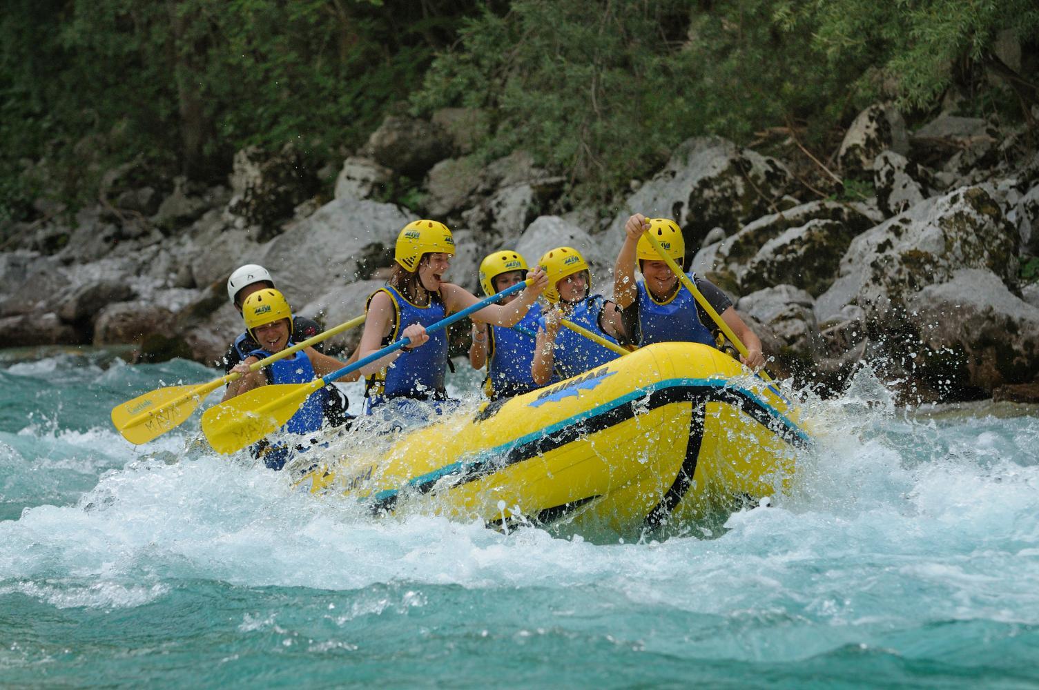 Rafting Kamp Labrca, Maya team