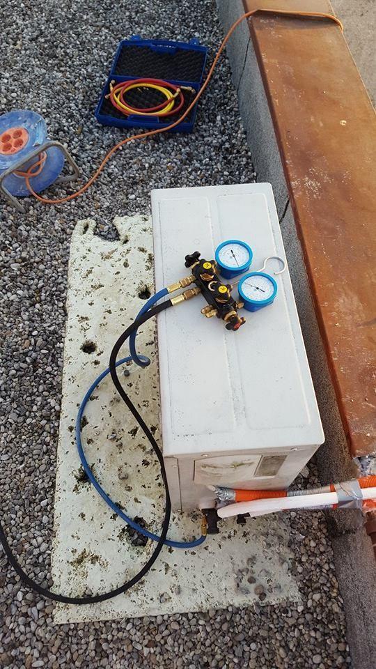 menjava radiatorjev, zamrzovanje radiaterjev, montaža klimatskih naprav8