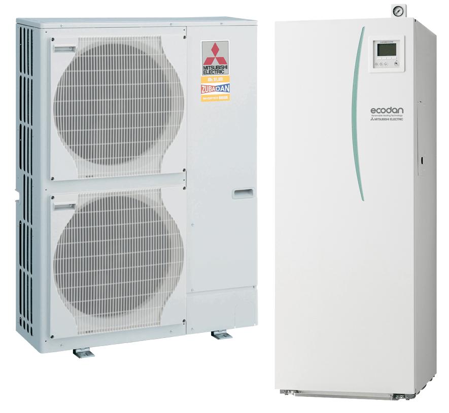 toplotne črpalke za centralno ogrevanje, hlajenje, sanitarno vodo, blagovne znamke coolwex, vivax3
