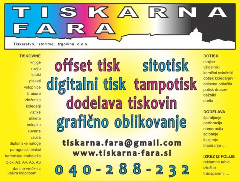 DIGITALNI TISK| OFFSET TISK| TISKARNA ŠKOFJA LOKA