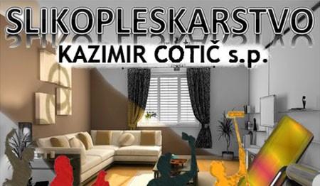 SLIKOPLESKARSTVO KAZIMIR COTIČ, NOVA GORICA