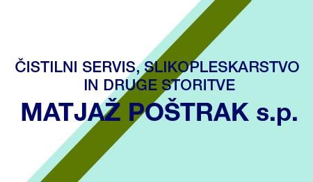 ČISTILNI SERVIS IN SLIKOPLESKARSTVO MATJAŽ POŠTRAK, LJUBLJANA