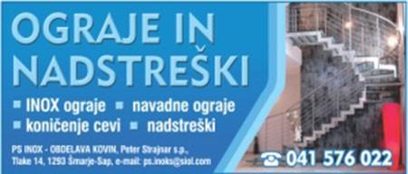 PS INOKS, ŠMARJE-SAP