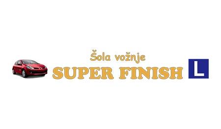 ŠOLA VOŽNJE SUPER FINISH, LJUBLJANA