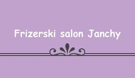 FRIZERSKI SALON JANCHY, LJUBLJANA