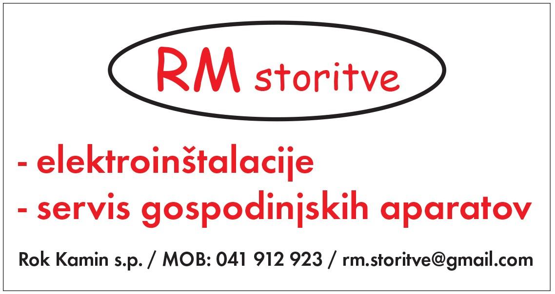 RM STORITVE, ROK KAMIN, VELIKA LOKA