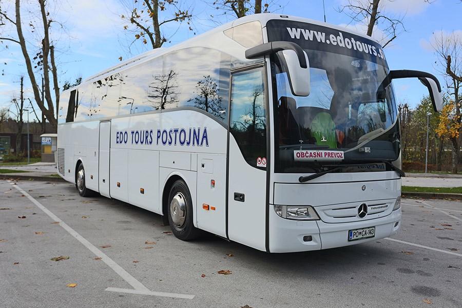 EDO TOURS, AVTOBUSNI PREVOZI, POSTOJNA