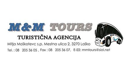 TURISTIČNA AGENCIJA, M&M TOURS, AVTOBUSNI PREVOZI, LAŠKO