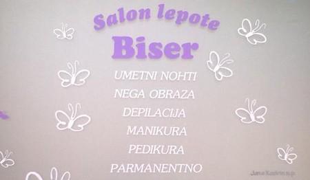 SALON LEPOTE BISER, KOMENDA